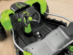 Power Wheels Dune Racer Green Interior